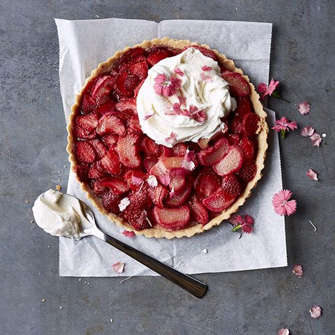 Springible Culinary Library: Gluten-Free Strawberry Tart
