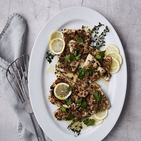 Springible Culinary Library: Chef Katie Button's Gluten-Free Flounder
