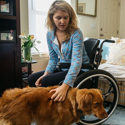 Getting a Service Dog After My Stroke